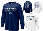 Penn State Adult 2018-19 Wrestling Schedule Long Sleeve