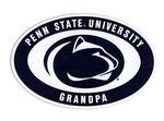 Penn State Euro Grandpa Magnet NAVYWHITE
