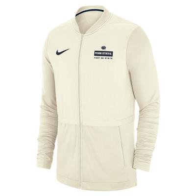 NIKE - Penn State Nike Men's Cream Elite Hybrid Jacket