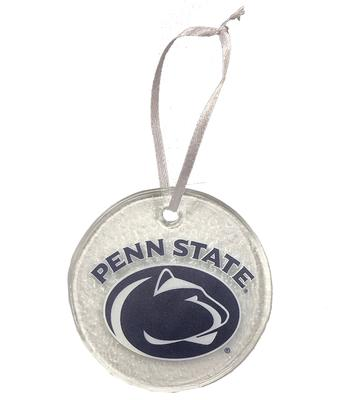 Neil Enterprises - Penn State Round Hammered Ornament