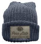 Penn State Adult Lumberjack Knit Hat DENIM