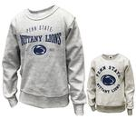 Penn State Infant Reversible Crew GREY