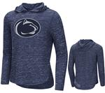 Penn State Youth Girls Swizzle Hooded Long Sleeve NAVY