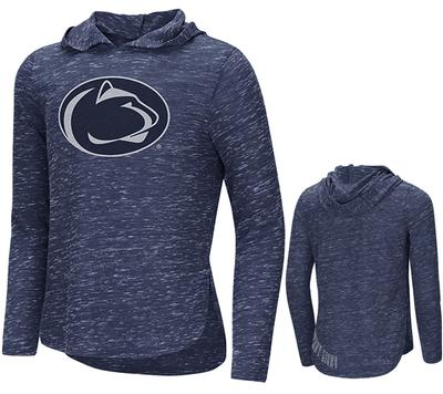 Colosseum - Penn State Youth Girls Swizzle Hooded Long Sleeve