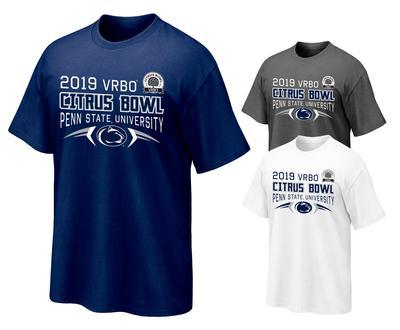 baec2d3f0 Penn State Citrus Bowl Adult Football T-Shirt Item   TS-FBALLBOWL18
