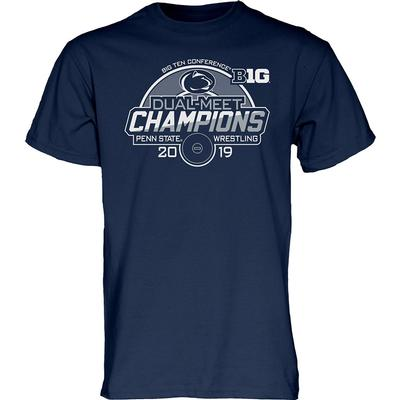 Blue 84 - Penn State 2019 Wrestling Dual-Meet Champions T-Shirt
