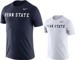 Penn State Nike Men's NK DFCT Word T-Shirt NAVY