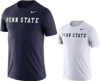 NIKE - Penn State Nike Men's NK DFCT Word T-Shirt