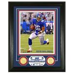 2018 Saquon Barkley Rookie of the Year Photo Mint Frame