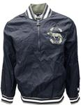 Penn State Men's Starter Jet Half-Zip Jacket NAVY