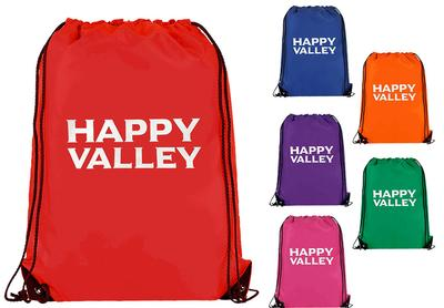 Neil Enterprises - Happy Valley Heavy-Duty Drawstring Backpack