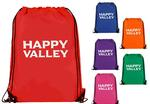 Happy Valley Heavy-Duty Drawstring Backpack