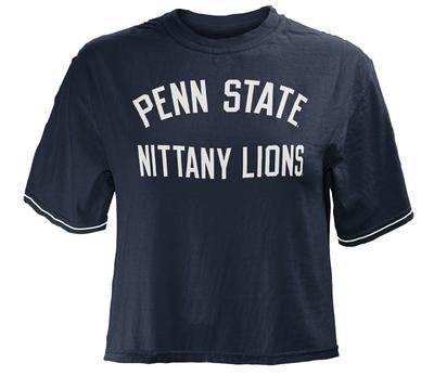 Press Box - Penn State Women's Lyn Cropped T-Shirt