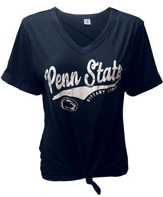 ZooZatz - Penn State Women's Juke Knotted T-Shirt