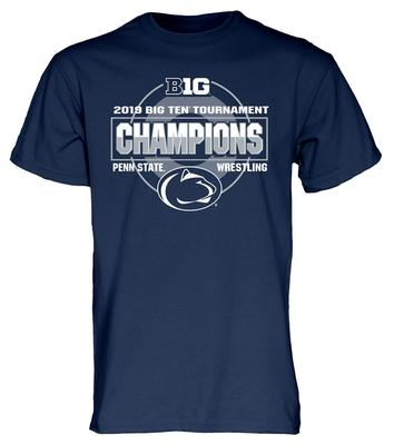 Blue 84 - Penn State 2019 Big Ten Wrestling Champions T-shirt