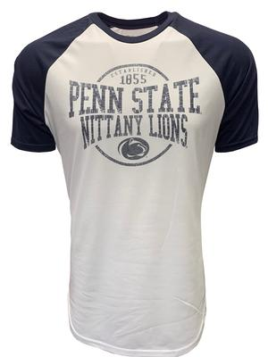 Blue 84 - Penn State Men's Hudson Raglan T-Shirt