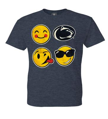 Wes & Willy Collegiate - Penn State Toddler Emojis T-Shirt