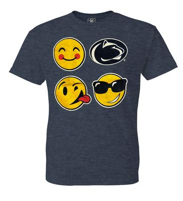 Wes & Willy Collegiate - Penn State Youth Emojis T-Shirt
