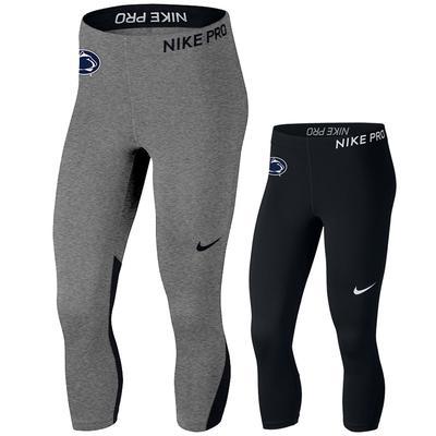NIKE - Penn State Nike Women's Pro Cool Capri Leggings