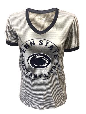 Blue 84 - Penn State Women's Maya Striped T-Shirt
