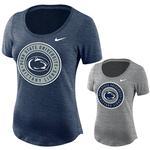 Penn State Nike Women's Dry Slub Circle T-Shirt