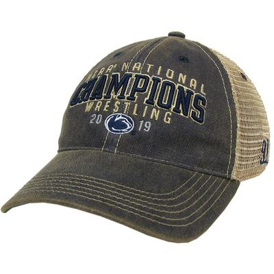 Legacy - Penn State 2019 Wrestling National Champions Trucker Hat