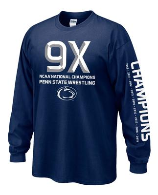 The Family Clothesline - Penn State 2019 Wrestling National Champions Adult Long Sleeve