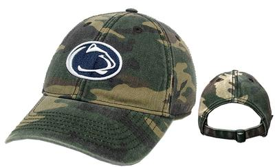 Legacy - Penn State Adult Relaxed Army Camo Hat