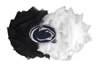Divine Creations - Penn State Flower Clip