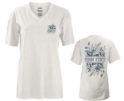 Press Box - Penn State Women's Tasha V-Neck T-Shirt