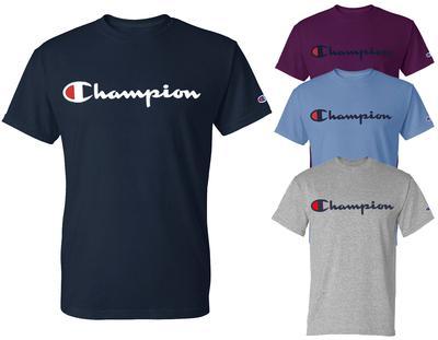 d39f6c51 Men's Champion Logo T-Shirt | Mens > TSHIRTS > SHORT SLEEVE