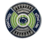 Penn State Melamine Platter NAVYWHITE