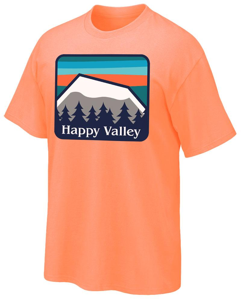 cd2b030f Penn State Adult Happy Valley Mountains T-Shirt | Mens > TSHIRTS ...