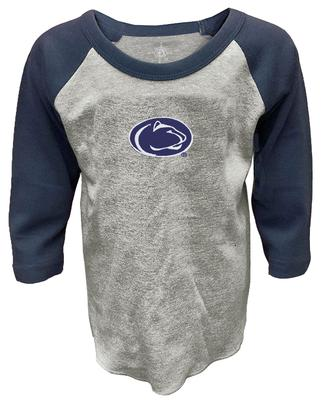 46431757 Penn State Toddler Pillbox Raglan Long Sleeve | Kids > TODDLER > TSHIRTS