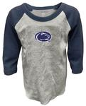 Penn State Toddler Pillbox Raglan Long Sleeve