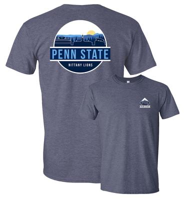 Uscape Apparel - Penn State Uscape Adult Unisex Scenic Circle T-Shirt
