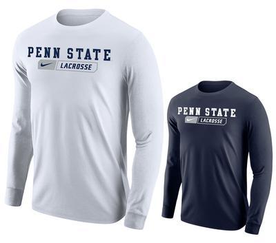 NIKE - Penn State Nike Men's Lacrosse Bar Long Sleeve