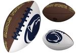 Penn State Full-Size Autograph Football WHITEBROWN