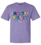 Penn State Adult Happy Valley Throwback T-Shirt VIOL