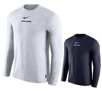 NIKE - Penn State Nike Men's NK Dry Coach Long Sleeve