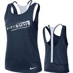 Penn State Nike Women's NK Dry Loose Tank NAVY