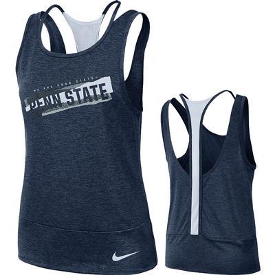 NIKE - Penn State Nike Women's NK Dry Loose Tank
