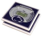 Penn State 3D Stadium Coasters 2 Pack NAVYWHITE