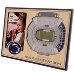 Penn State 3D Stadium Picture Frame NAVYWHITE