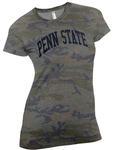 Penn State Women's Arc Camo T-Shirt VINTAGE CAMO