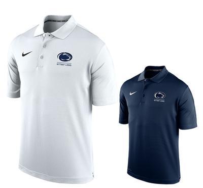 NIKE - Penn State Nike Men's Bar Polo