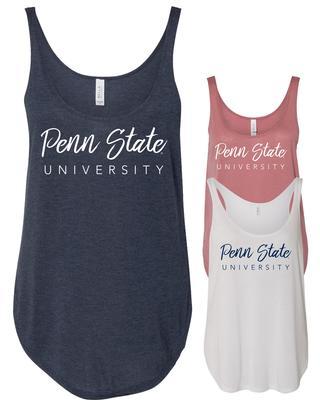 The Family Clothesline - Penn State Women's Flowy Script Tank