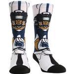 Penn State Adult Hyperoptic Playmaker Socks NAVYWHITE