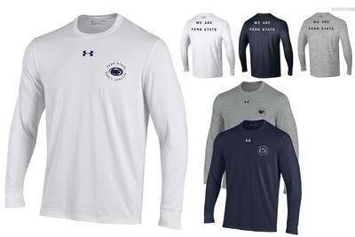 UNDER ARMOUR - Penn State Under Armour Men's Performance Long Sleeve