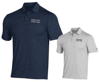 UNDER ARMOUR - Penn State Under Armour Men's Playoff Heather Polo